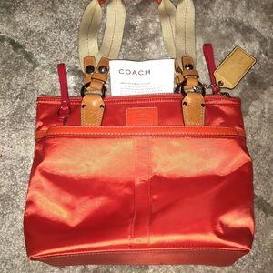 COACH Hampton Handbag/Mini Tote